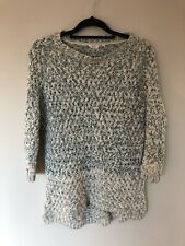Fat Face Chunky Knit Jumper Sweater Size 10 S/M