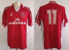 MAGLIA AC PERUGIA GALEX 1999 2000 CALCIO TRIKOT VINTAGE SHIRT JERSEY MAILLOT