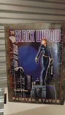 Bowen Sculpted Black Widow Statue Marvel Comics