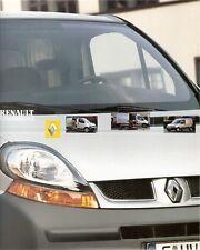 Prospetto/brochure RENAULT Kangoo Trafic Master FRESCO SERVIZIO 08/2003