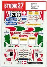 STUDIO27 1/24 TOYOTA COROLLA WRC Castrol MONTE '00 for TAMIYA DC325 Decal