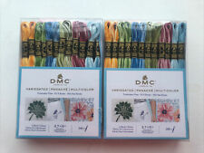 DMC Variegated Panache Embroidery Floss Lot Of Two Packages  NEW!