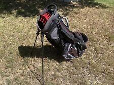 Top Flite Gamer 14-Way Light Golf Stand Bag No Cover Dual Strap Many Pockets EUC