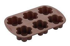 Brownie Flower 6 cavity silicone mold cake pan, Wilton #4924 NIP