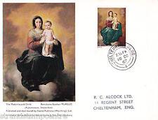 1967 Natale 4d-TIMBRO Pubblicita 'Card-Cheltenham CD