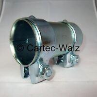 Auspuff Rohrverbinder / Rohrverbinder / Doppelschelle 54 x 125 mm