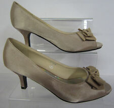 Mid Heel (1.5-3 in.) Special Occasion Satin Shoes for Women