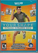 Your Shape: Fitness Evolved 2013 Nintendo Wii U **NEW**