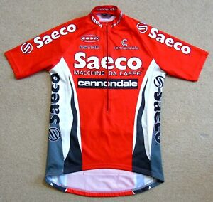 "GOOD CONDITION SAECO ESTRO PRO TEAM JERSEY. CANNONDALE 40"" CIRCUMFERENCE"