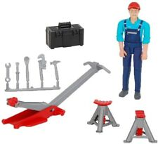 New Bruder Toys Bworld Man with Repair Shop Accessories Vehicle 62100