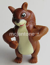 LOOSE McDonald's 2006 The Wild BENNY SQUIRREL Disney Toy WIND UP Cake TOPPER