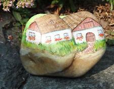 Landhaus, country home, Stein bemalt, Garten, Terrasse, Balkon