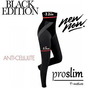 Anti Cellulite slimming leggings Pro Slim/T-active with Tourmaline Black Edition