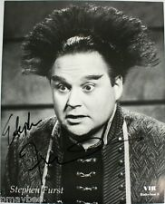 """Stephen Furst as Vir Cotto in Babylon 5 - Autographed 8""""x10"""" Photo - B&W"""