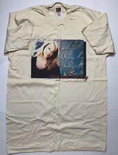 VTG Original Early 1990s Mariah Carey Hearts Design Tan T-Shirt Size Large L