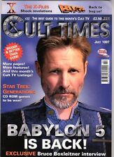 WoW! Cult Times #22 👽 Babylon 5! The X-Files! Bugs! Six Million Dollar Man! 👽