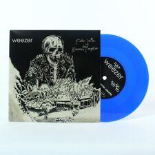 "Wavves/Weezer Fake Smiles & Nervous Laughter BLUE VINYL 7"" Record! non lp!!! NEW"