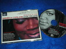 rare CD maxi single 2002 SHEMEKIA COPELAND livin'on love PROMOTION ONLY dr.JOHN