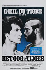 Rocky III (1982)  Sylvester Stallone movie poster print