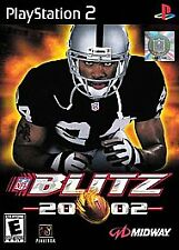 NFL Blitz 20-02 (Sony PlayStation 2, 2002)        FAST SHIPPING !!!          PS2