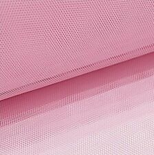 ROTOLO DI TULLE ROSA 10CM X 50M tessuti decorazioni 012 10-111