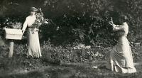 VINTAGE ANTIQUE ARTISTIC PHOTOGRAPHER CAMERA VICTORIAN FASHION COUTURE PHOTO