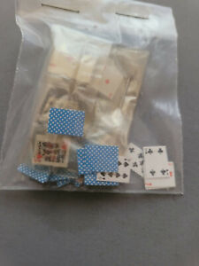 Dollhouse Miniatures Deck of Playing Cards