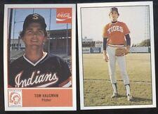 1977 1978 Tom Hausman Card Lot (2) - Mobridge SD, LaVerne CA, New York Mets A273