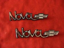 1973, 73 CHEVY NOVA EMBLEMS