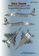 EURO DECALS TRANSFERS MCDONNELL DOUGLAS F-15C OREGON ANG SPECIAL ED-72122
