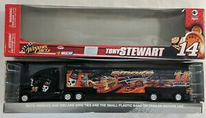 2008 WC 1/64 Hauler Tony Stewart #14 Smoke Truck Winner's Circle Excellent