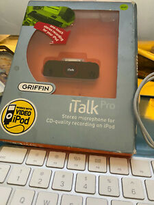 GRIFFIN iTalk Pro Stereo Recording Microphone for IPAD new