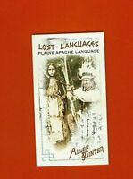 2019 Topps Allen & Ginter Lost Languages Plains Apache LL-5