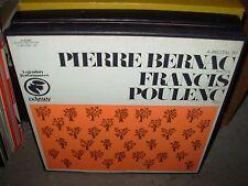 PIERRE BERNAC & FRANCIS POULENC a recital by ( classical ) 2lp box odyssey