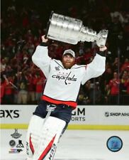 Braden Holtby Washington Capitals Hoists Stanley Cup 8x10 Photo
