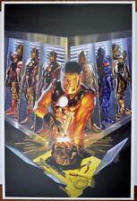 The GOLDEN AVENGER - IRON MAN Print / Poster Marvel