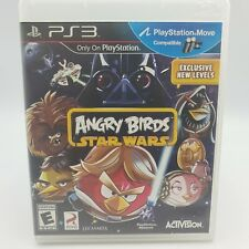 Angry Birds Star Wars Playstation 3 PS3 Game Disc & Case!