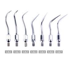 7 Models Dental Ultrasonic Scaler Tips GK1-GK7 for KAVO Air Scaler Handpiece