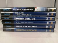 Lot Of 6 Space Themed Imax Dvd Movie