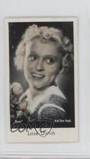 1934 Caid Beruhmter Filmkunstler Tobacco Base #177 Luise Ullrich Card 1s8