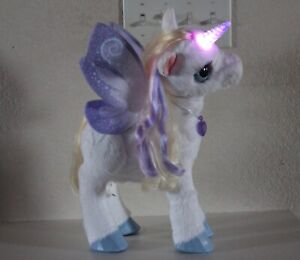 FurReal Friends Star Lily My Magical Unicorn Interactive Plush Light Up Horn