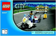 Lego City High Speed Chase 60007 Partial set - motorcycle ONLY