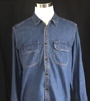 Men's Gap Large Long Sleeve Denim Shirt Brand New With Tag MSRP $49.99