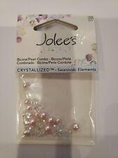 New listing Jolee'S Jewels, Swarovski - Crystals Pink Clear - Bicone Pearl Mix