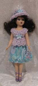 Made to fit COQUETTE CISSY Madame Alexander #06 Top, Hat, Skirt, Purse, Clothes