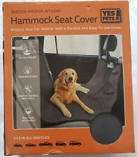 Yes Pets Hammock Active Pets Back Seat Cover Protector for Dogs - Gray