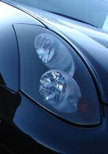 03-07 SMOKED HEAD LIGHT /w CUTOUT TINT COVER OVERLAYS FOR G35 COUPE