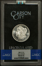 1882-CC MORGAN $1 Silver DOLLAR - GSA PROOF-LIKE ** NGC MS 64+ PLUS!  Lot#R691