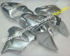 ZX9R Fairing For Kawasaki Ninja ZX-9R 2000 2001 ZX 9R 00 01 All Silver Body Kits