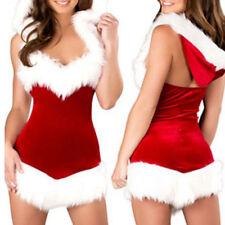 Sexy Lingerie Sleepwear Women G-string Babydoll Nightwear Xmas Christmas Costume